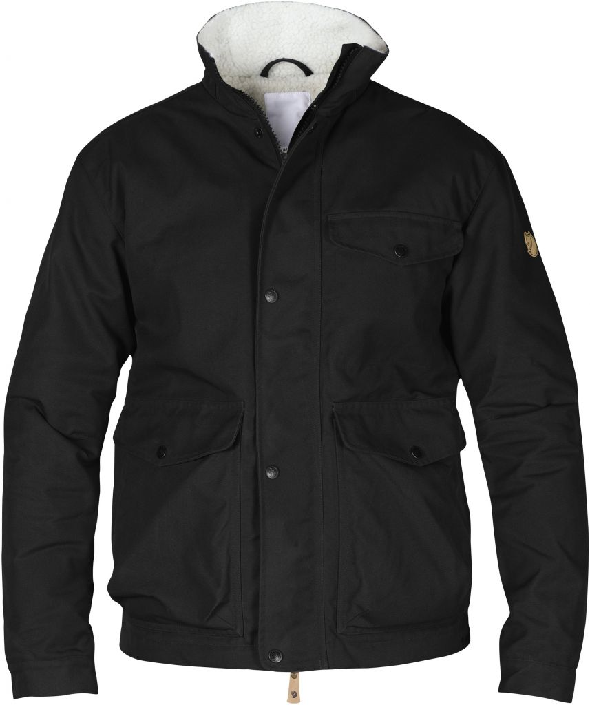 FjallRaven Övik Winter Jacket Black-30