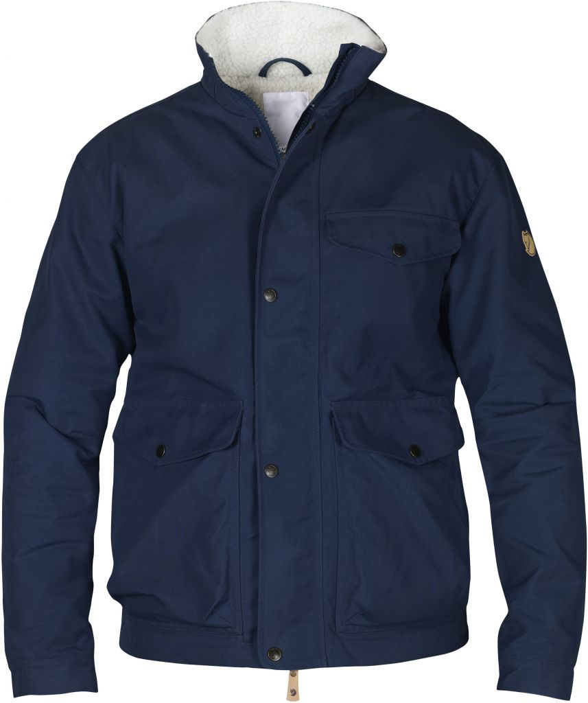 FjallRaven - Övik Winter Jacket Dark Navy - Down Jackets -