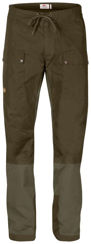 FjallRaven Abisko Active Trousers Dark Olive-30