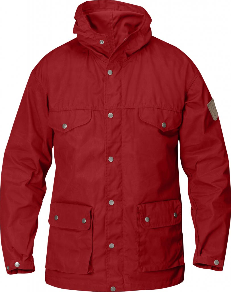 FjallRaven Greenland Jacket Deep Red-30