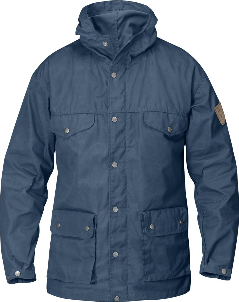 FjallRaven Greenland Jacket Uncle Blue-30