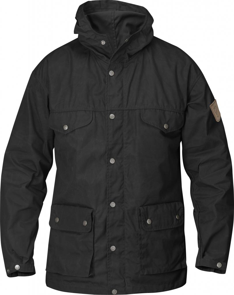 FjallRaven Greenland Jacket Black-30