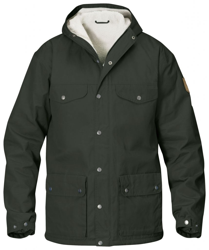 FjallRaven - Greenland Winter Jacket Mountain Grey - Isolation & Winter Jackets - L