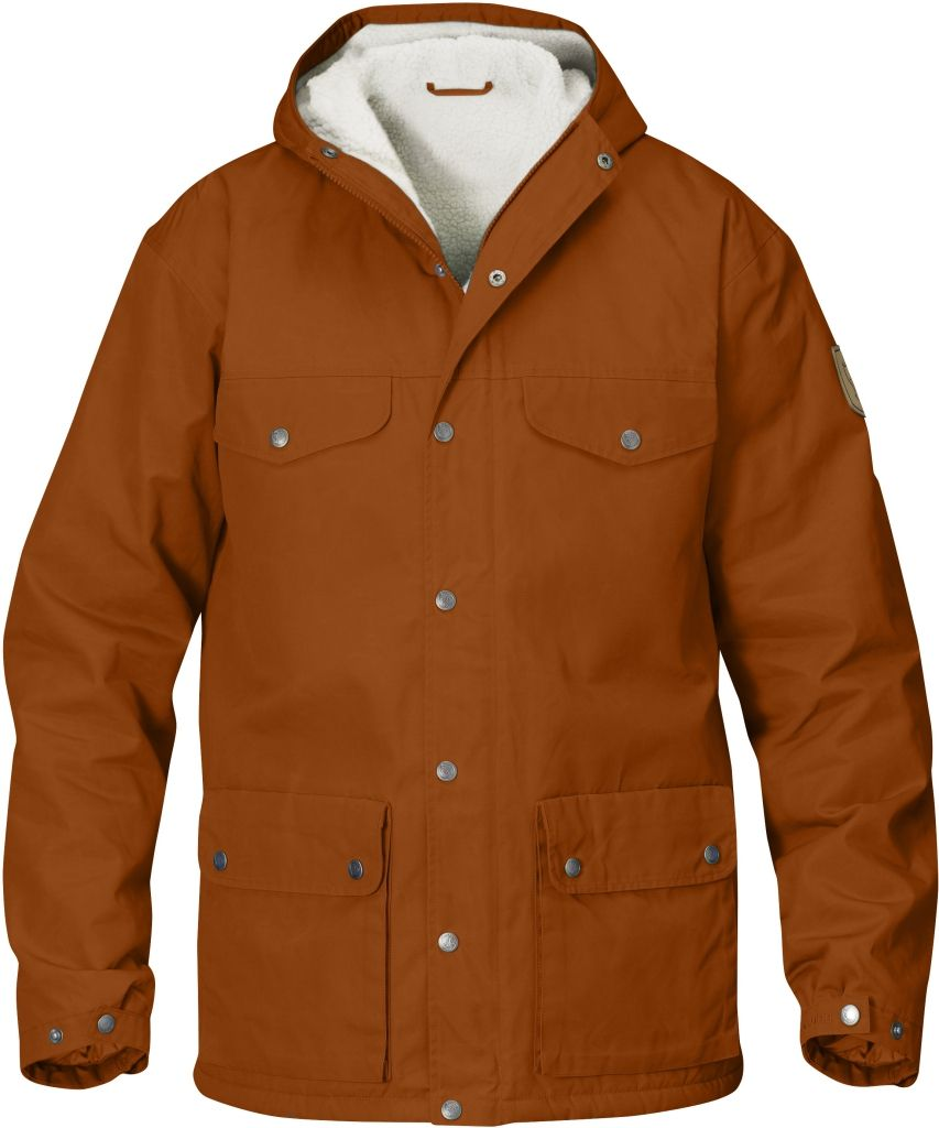 FjallRaven Greenland Winter Jacket Autumn Leaf-30