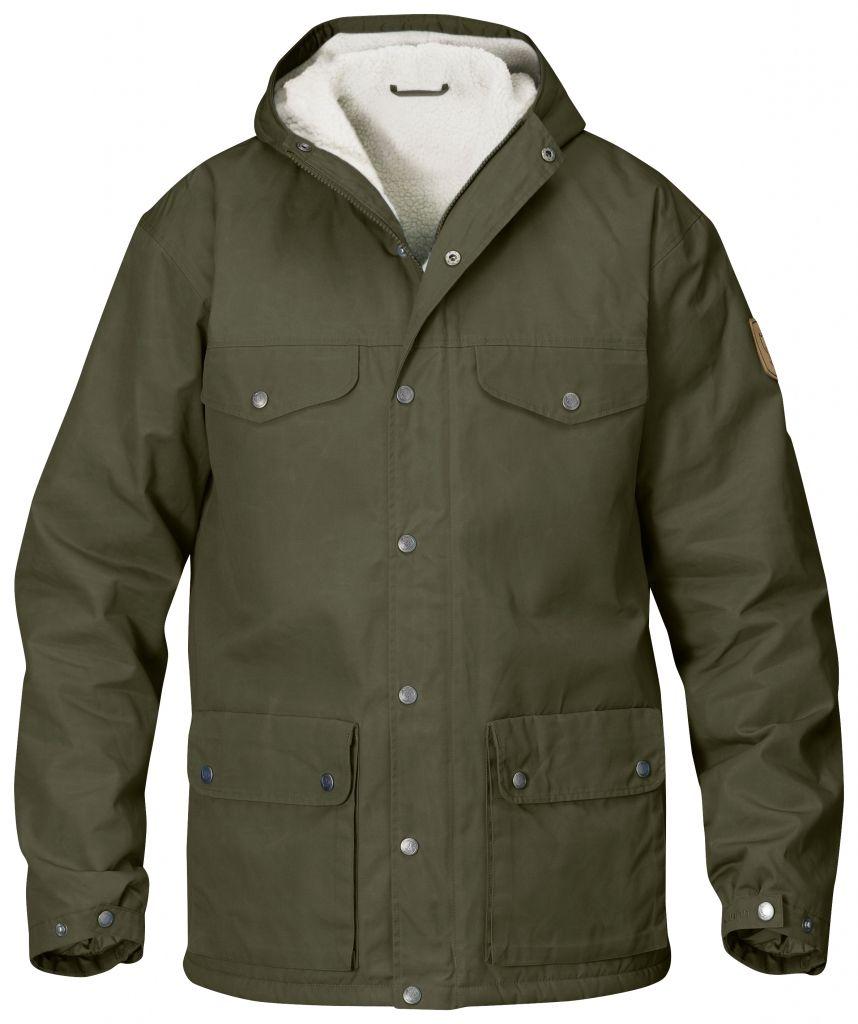 FjallRaven - Greenland Winter Jacket Tarmac - Isolation & Winter Jackets -
