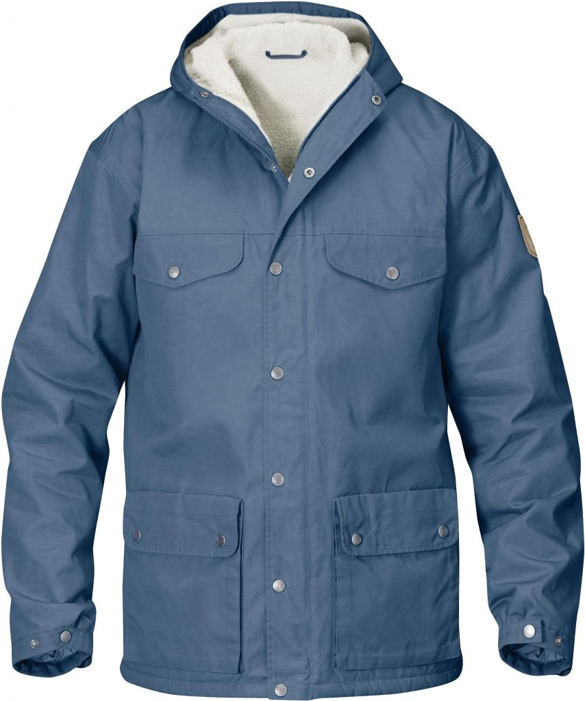 FjallRaven Greenland Winter Jacket Uncle Blue-30