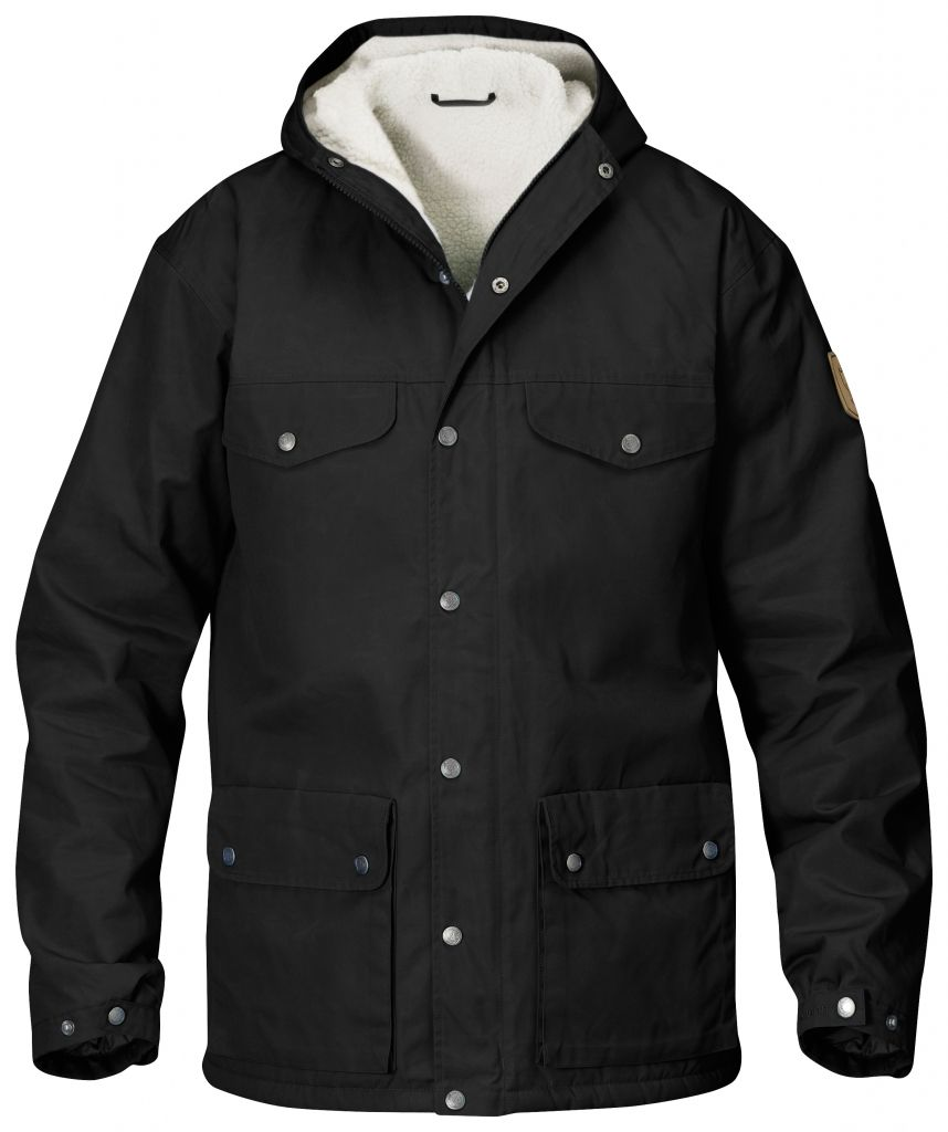 FjallRaven - Greenland Winter Jacket Black - Isolation & Winter Jackets - M