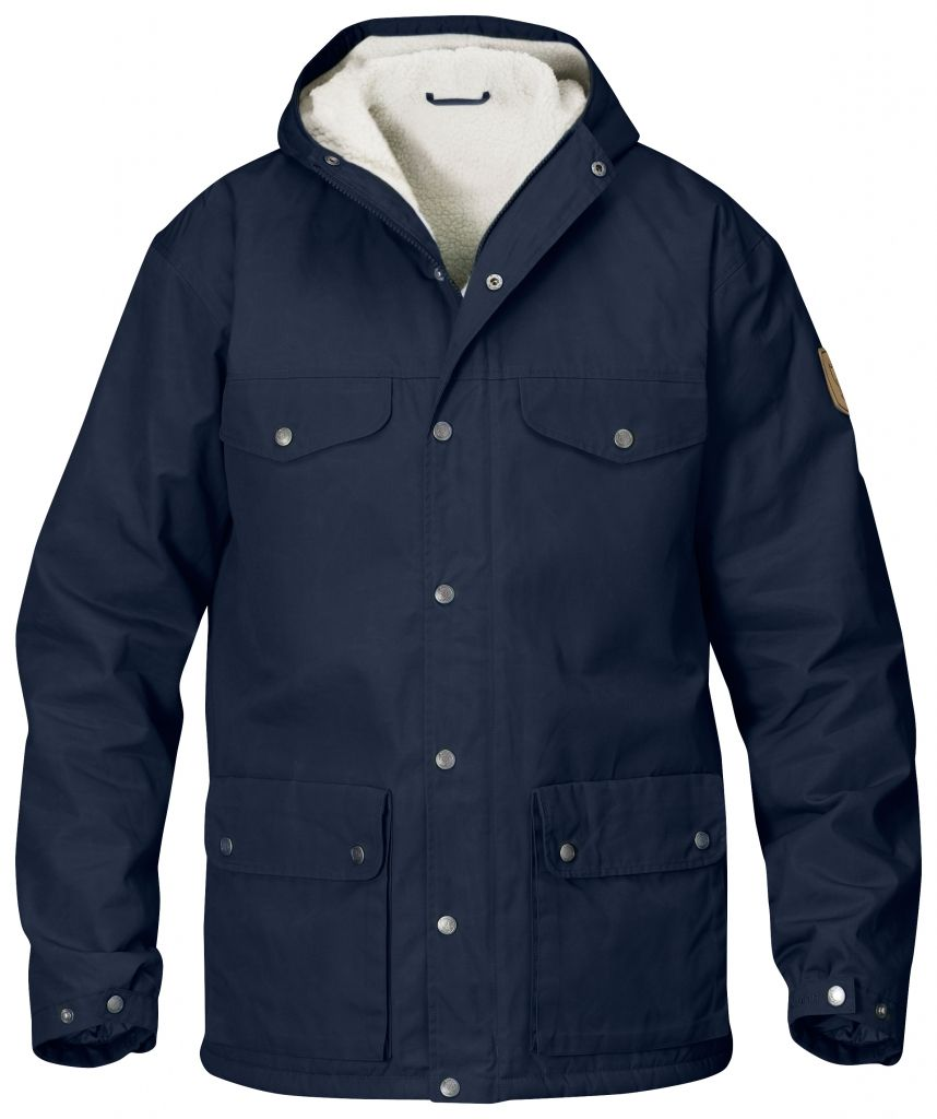 FjallRaven - Greenland Winter Jacket Dark Navy - Isolation & Winter Jackets - M