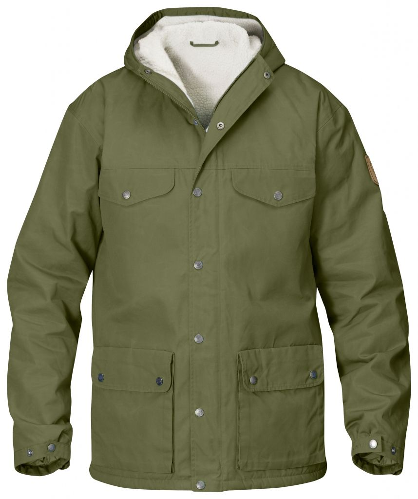 FjallRaven - Greenland Winter Jacket Green - Isolation & Winter Jackets - XXL