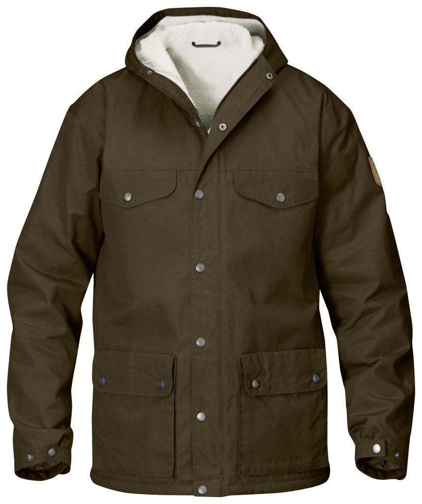 FjallRaven Greenland Winter Jacket Dark Olive-30