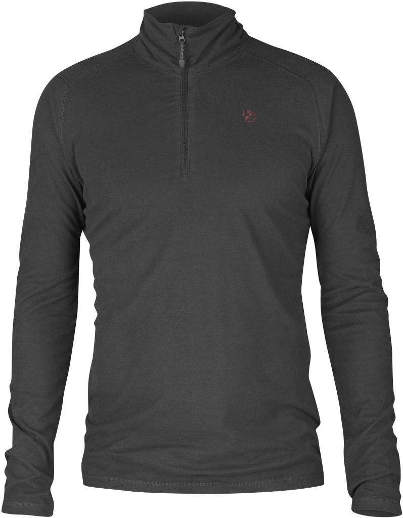 FjallRaven Pine Half Zip Dark Grey-30