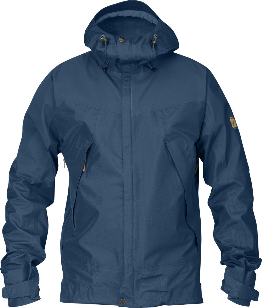 FjallRaven Eco-Trail Jacket Uncle Blue-30