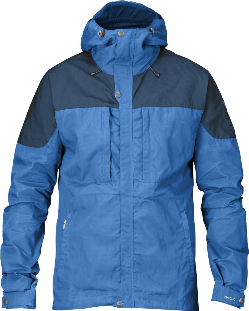 FjallRaven Skogsö Jacket UN Blue-Uncle Blue-30
