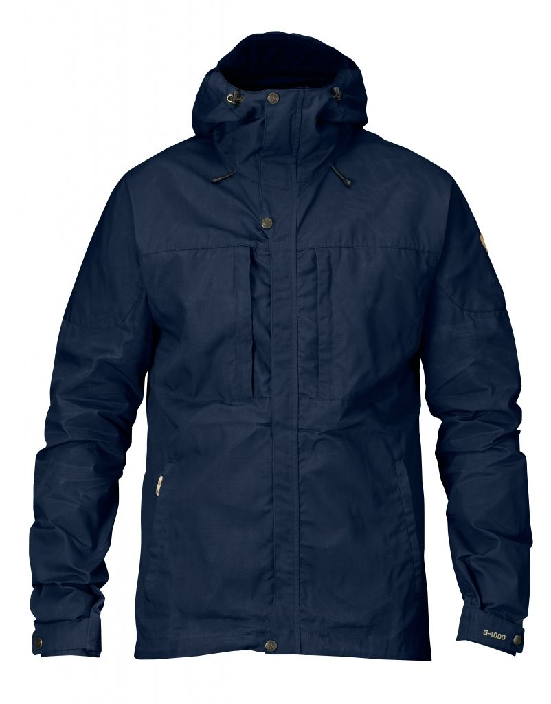 FjallRaven Skogsö Jacket Dark Navy-30