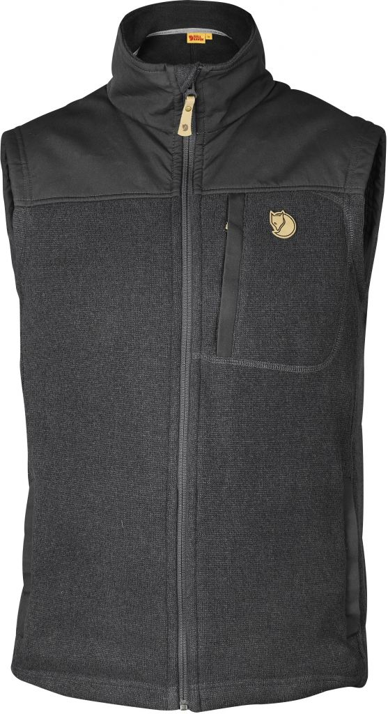 FjallRaven Buck Fleece Vest Graphite-30