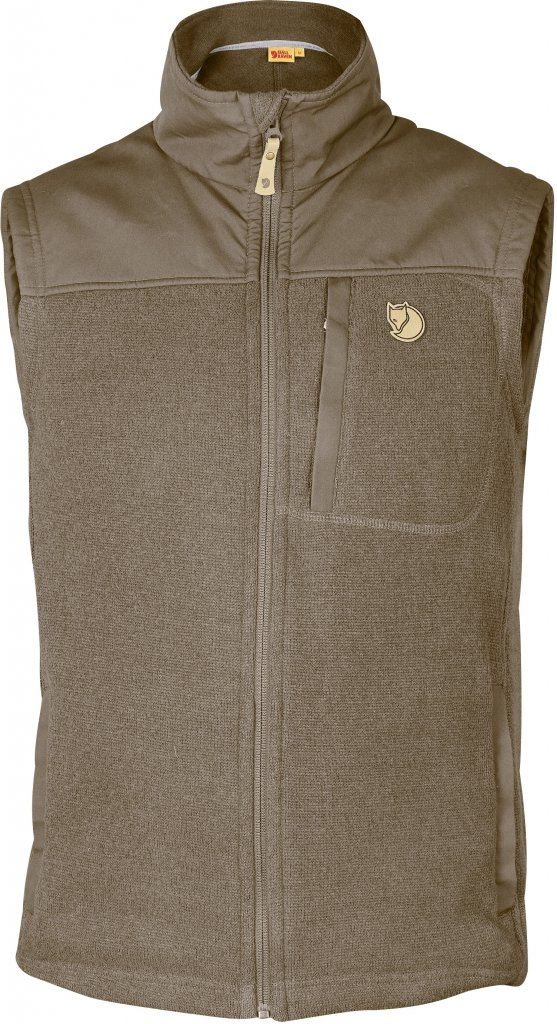 FjallRaven Buck Fleece Vest Taupe-30