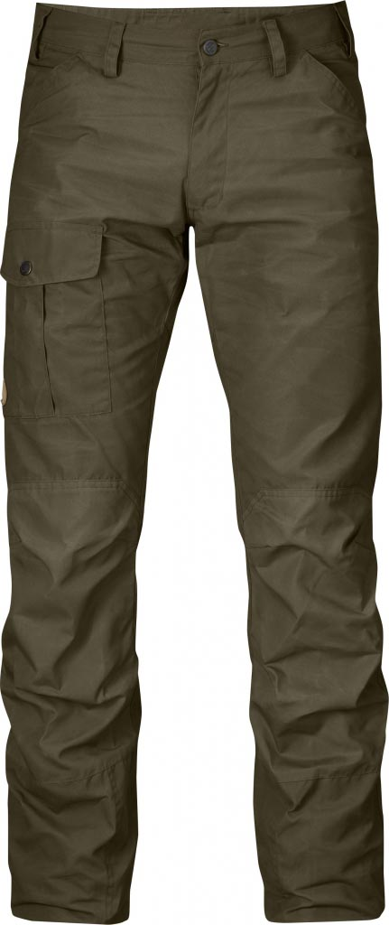 FjallRaven Nils Trousers Dark Olive-30