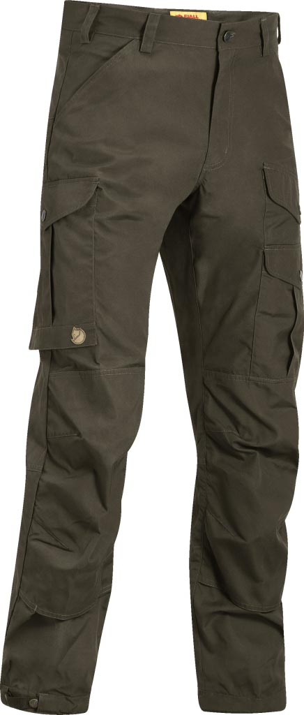 FjallRaven Greenland Pro Trousers Dark Olive-30