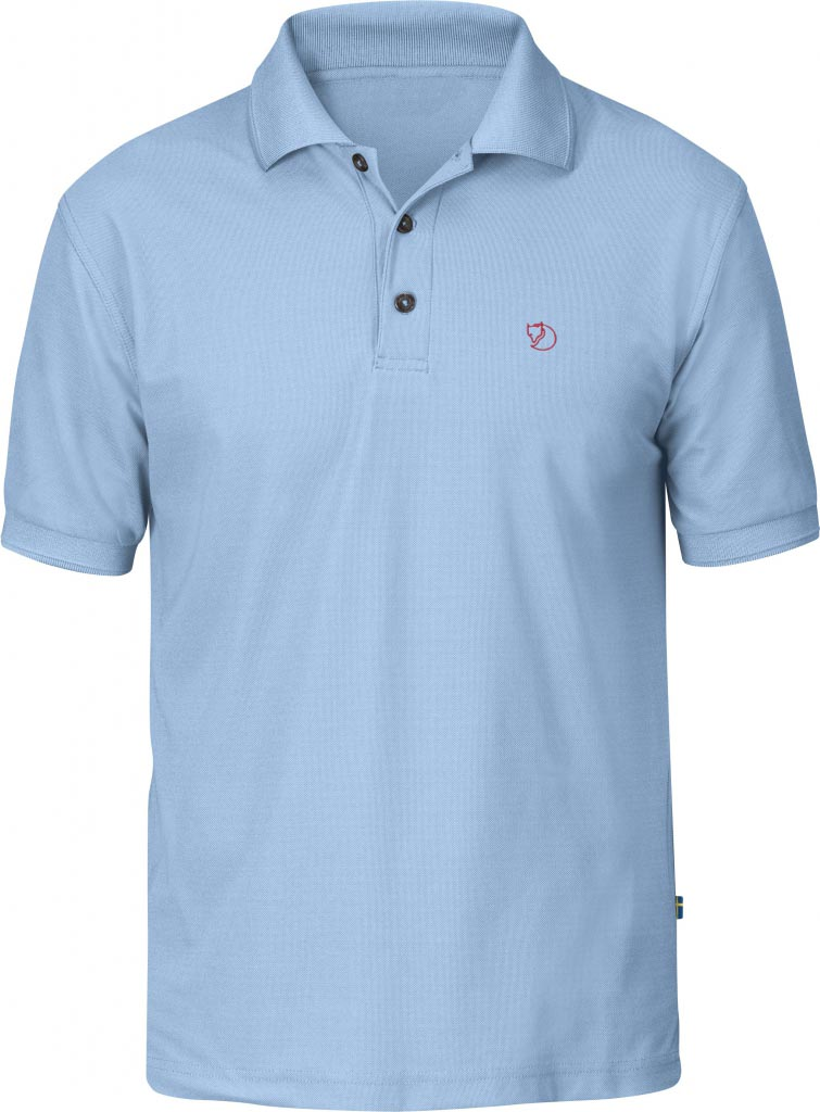 FjallRaven Crowley Pique Shirt Light Blue-30