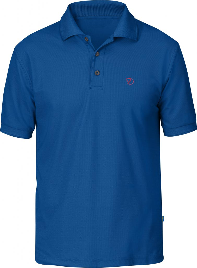 FjallRaven Crowley Pique Shirt Bay Blue-30