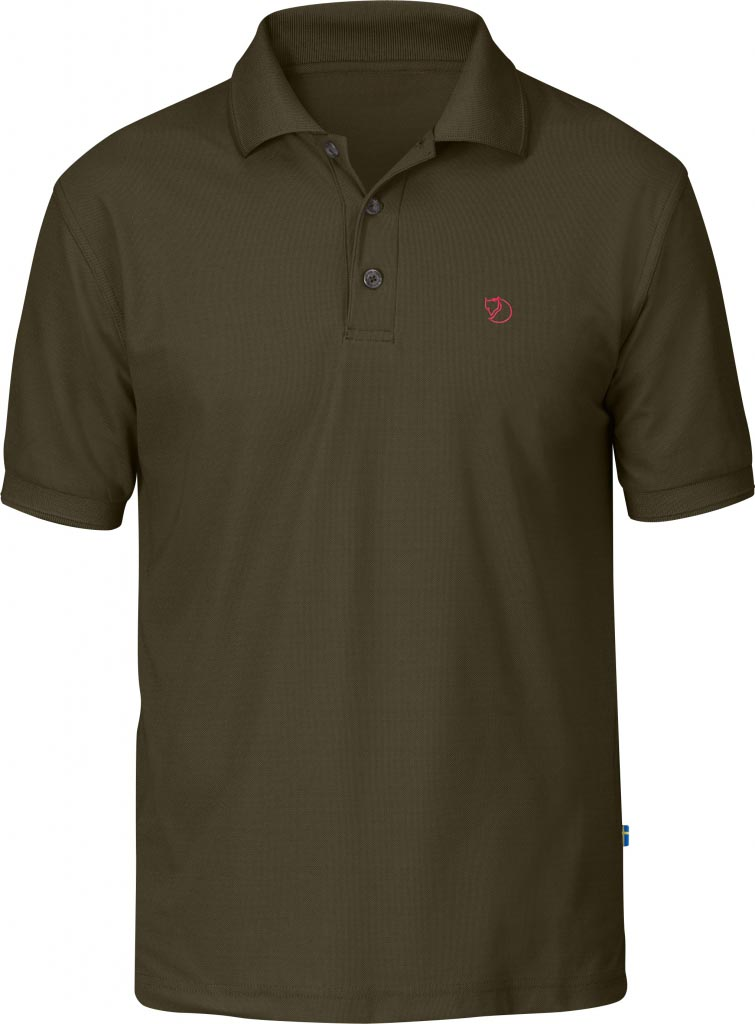FjallRaven Crowley Pique Shirt Dark Olive-30