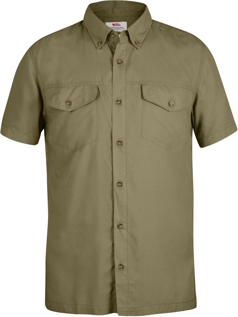 FjallRaven Abisko Vent Shirt SS Cork-30
