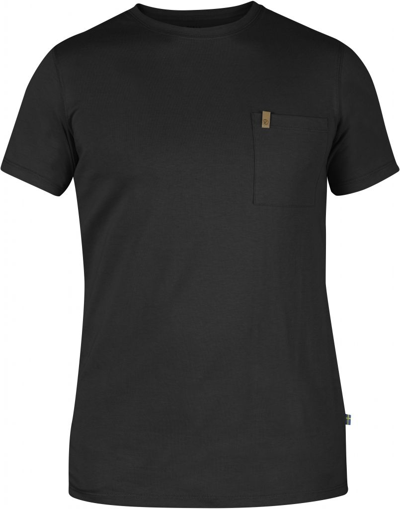 FjallRaven Övik Pocket T-shirt Dark Grey-30