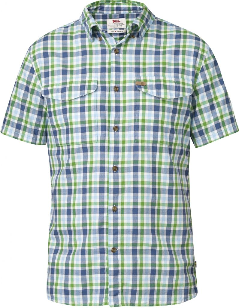 FjallRaven Övik Shirt SS Uncle Blue-30
