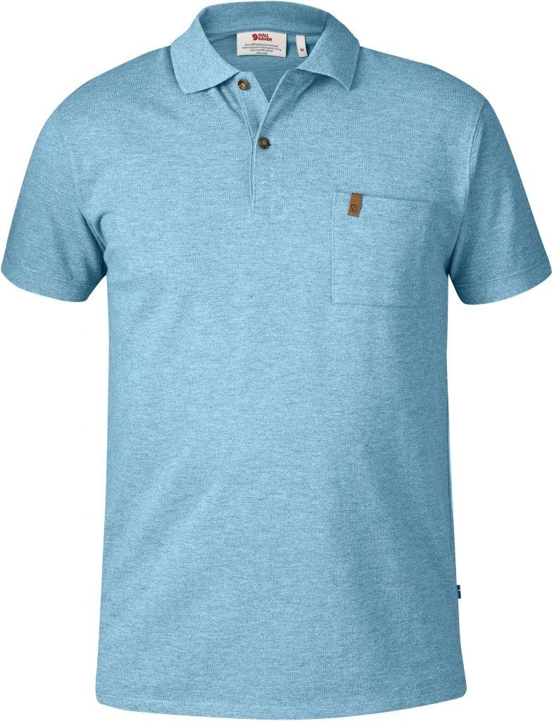 FjallRaven Övik Pique Shirt Bluebird-30
