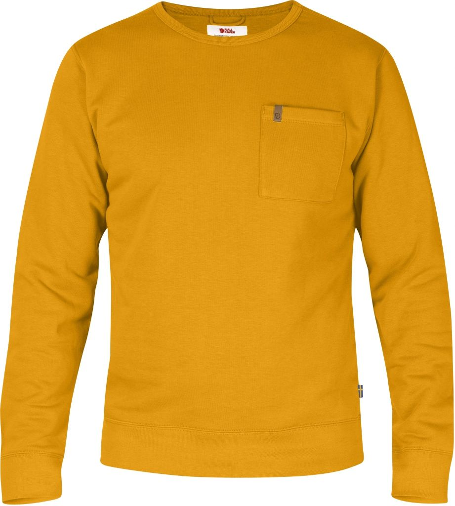 FjallRaven Övik Sweater Campfire Yellow-30