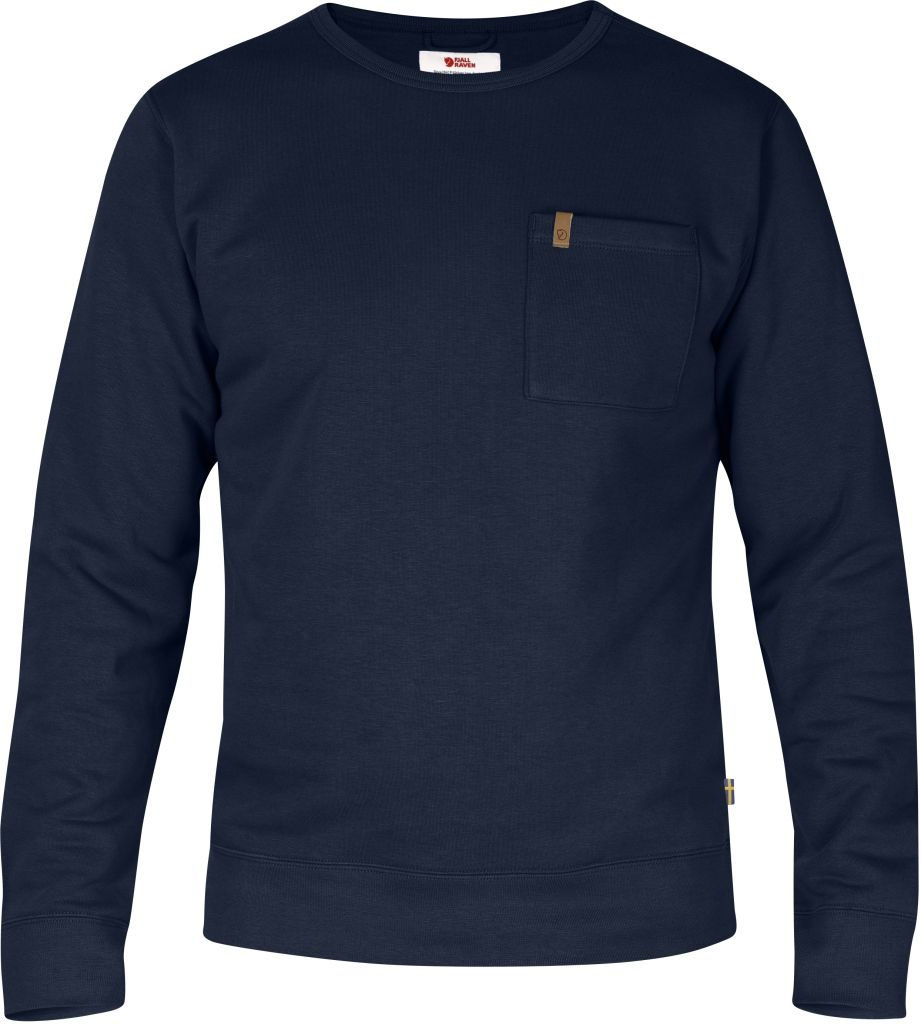 FjallRaven Övik Sweater Dark Navy-30