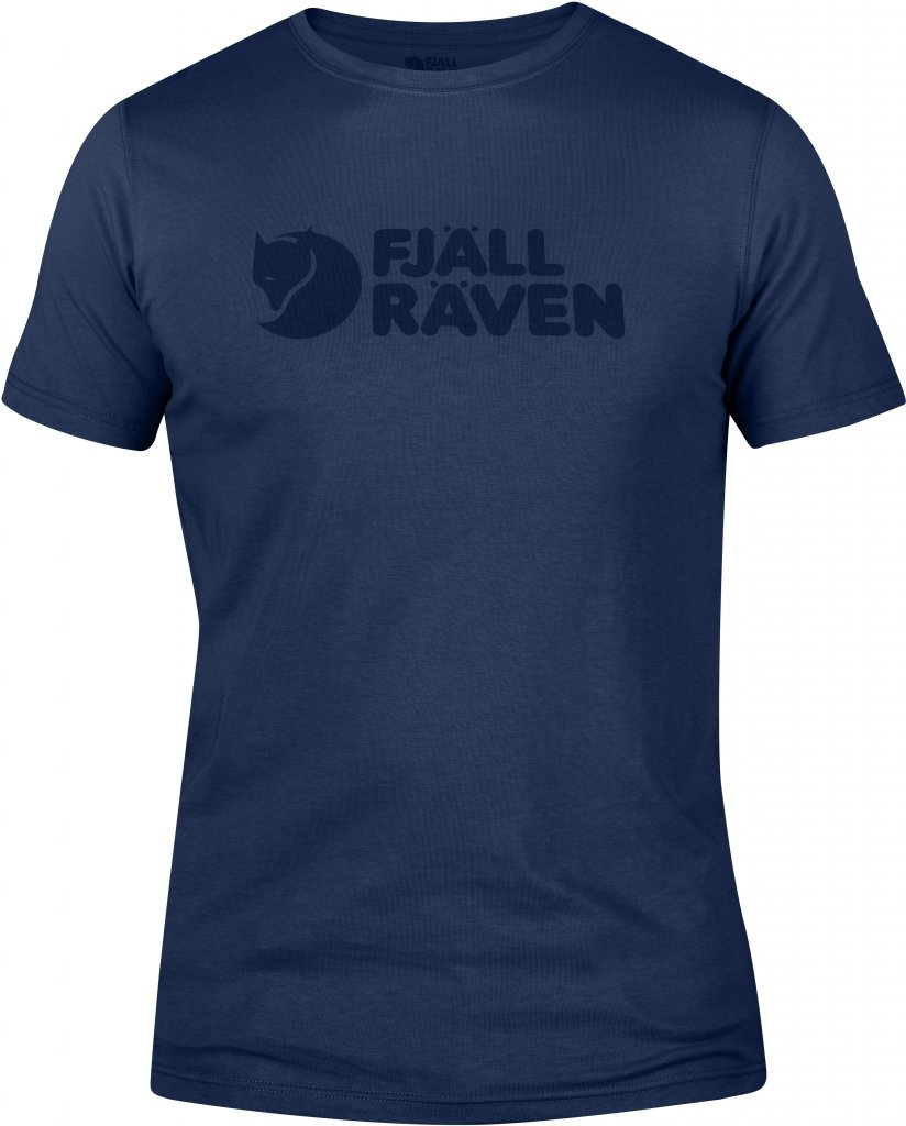 FjallRaven Logo T-shirt Blueberry-30