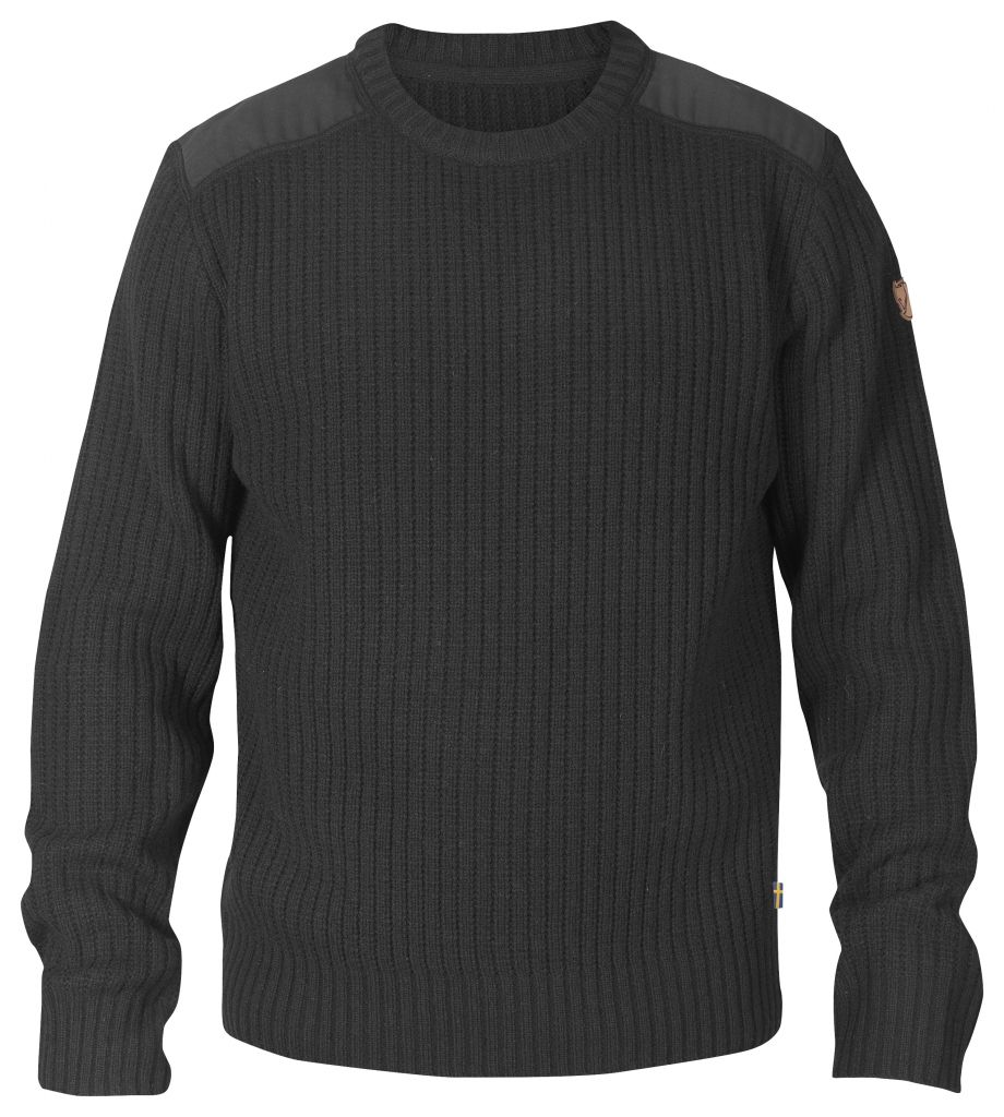 FjallRaven Sarek Knit Sweater Dark Grey-30