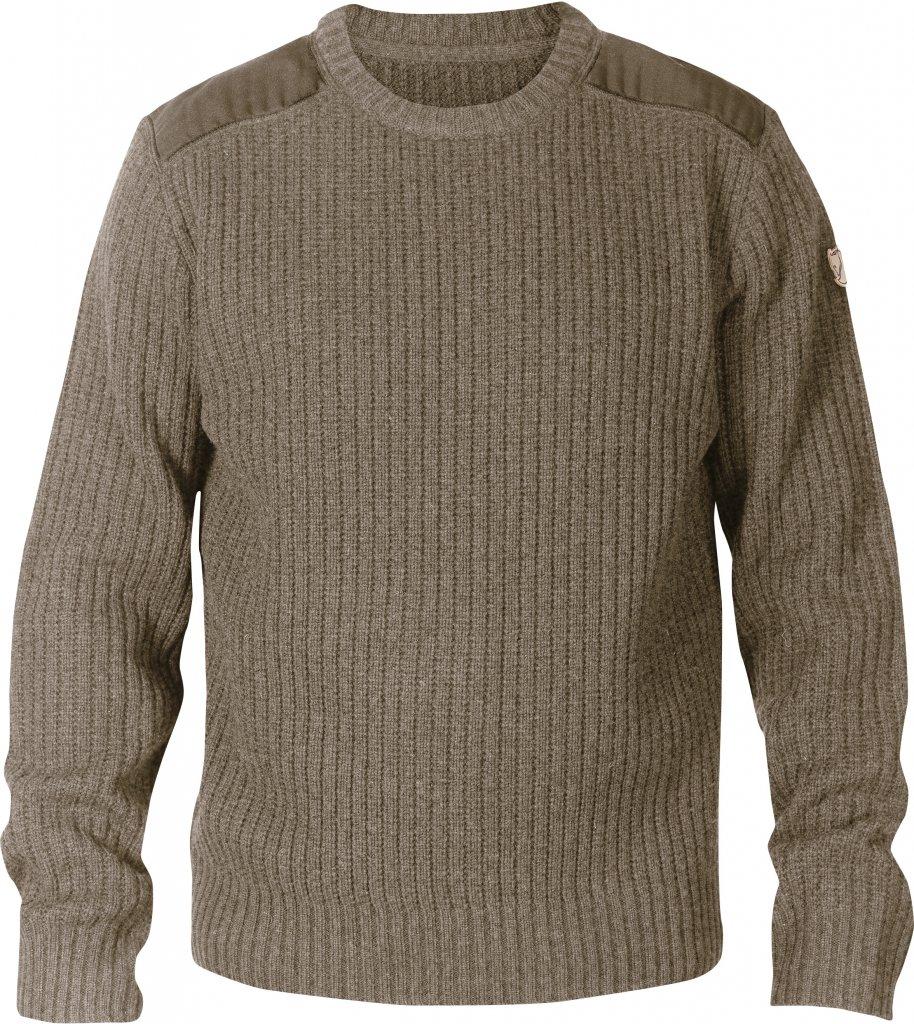 FjallRaven Sarek Knit Sweater Taupe-30