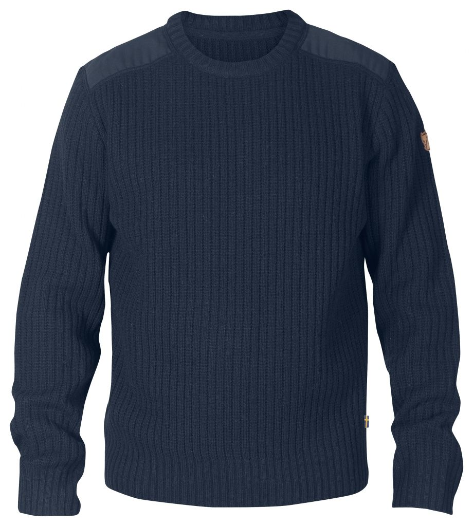 FjallRaven Sarek Knit Sweater Dark Navy-30