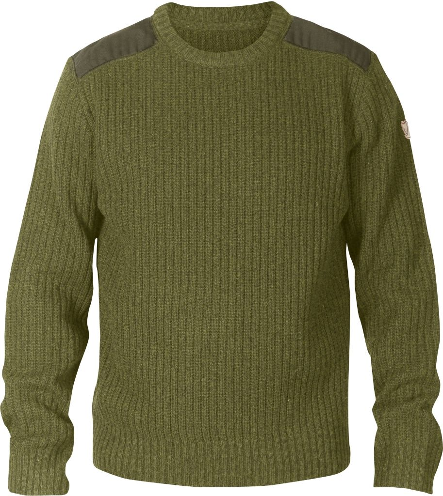 FjallRaven Sarek Knit Sweater Dark Olive-30