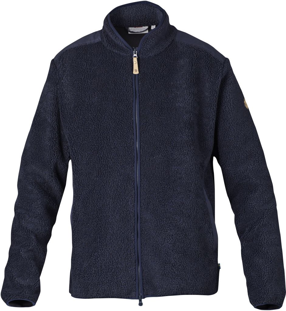 FjallRaven Sarek Zip Sweater Dark Navy-30
