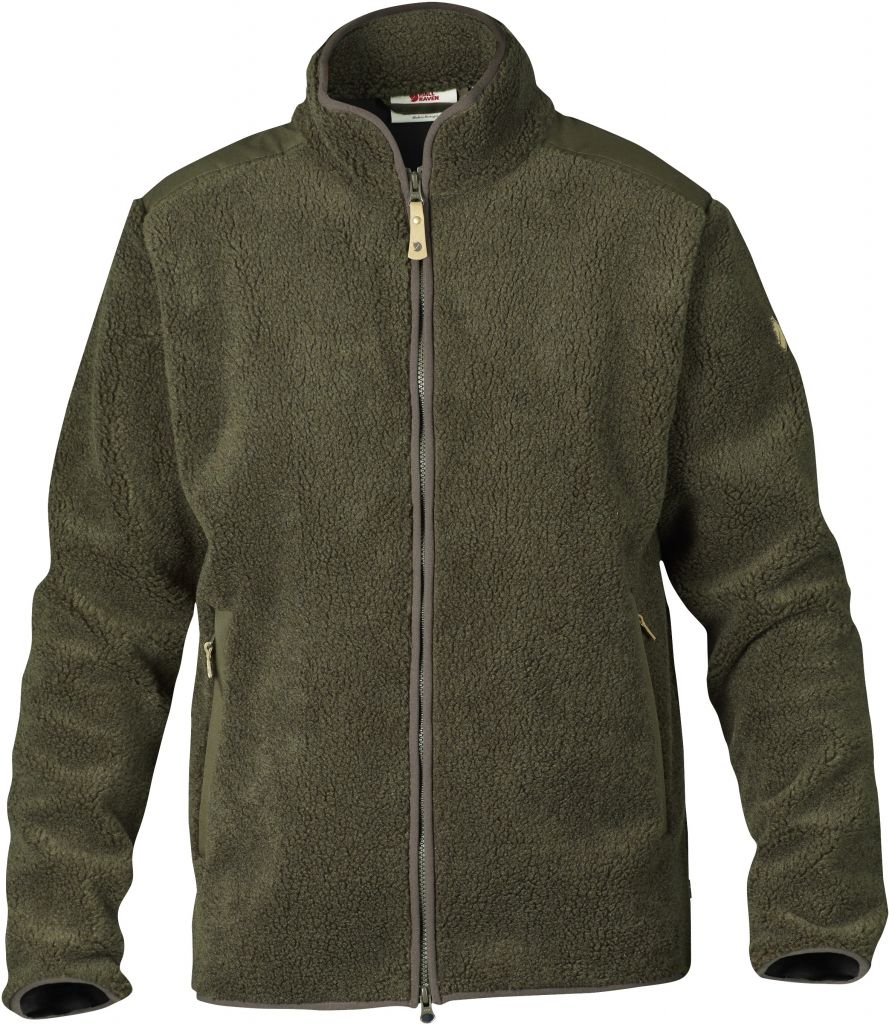 FjallRaven Sarek Zip Sweater Dark Olive-30
