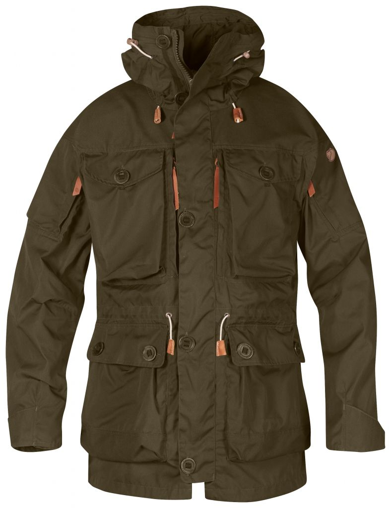 FjallRaven Smock No. 1 Dark Olive-30