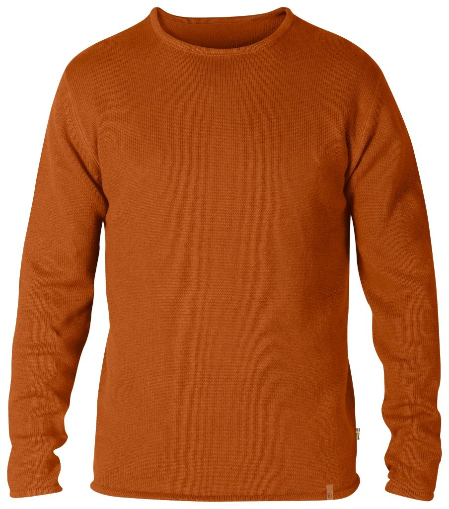 FjallRaven Kiruna Knit Sweater Autumn Leaf-30