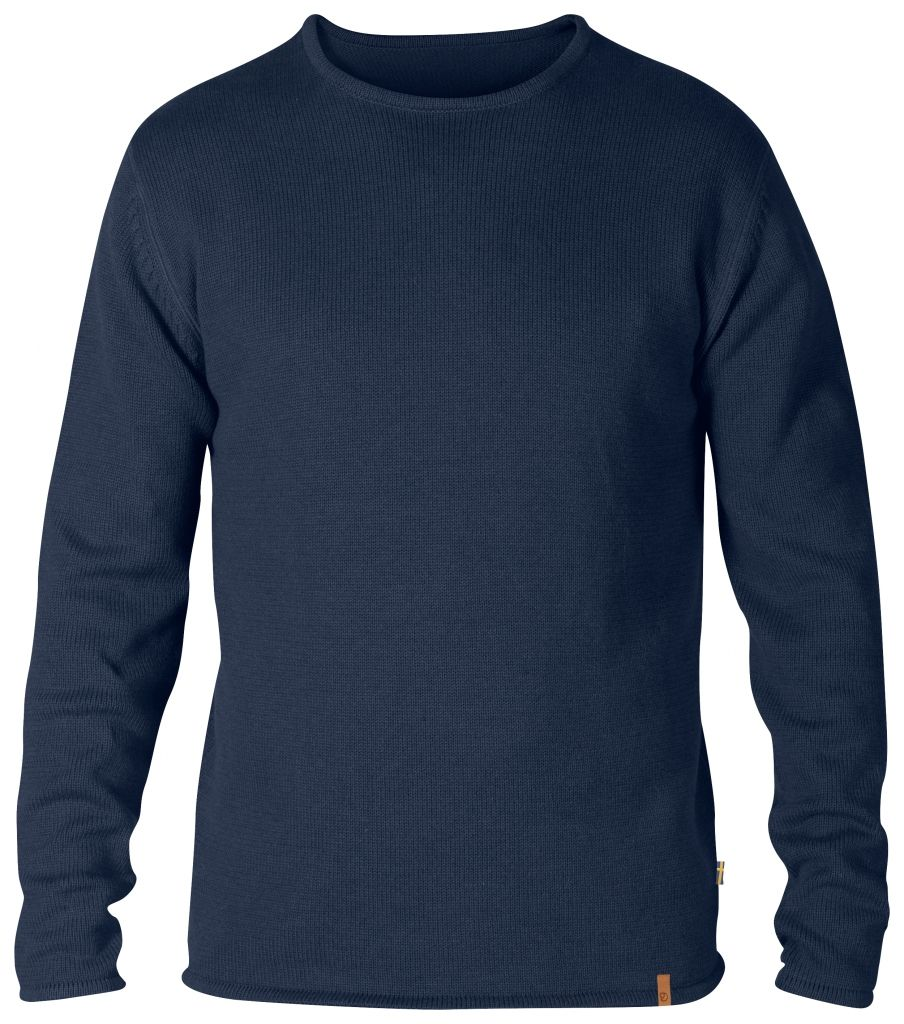 FjallRaven Kiruna Knit Sweater Dark Navy-30
