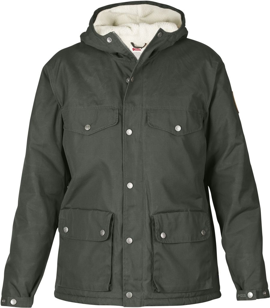 FjallRaven Greenland Winter Jacket W. Mountain Grey-30