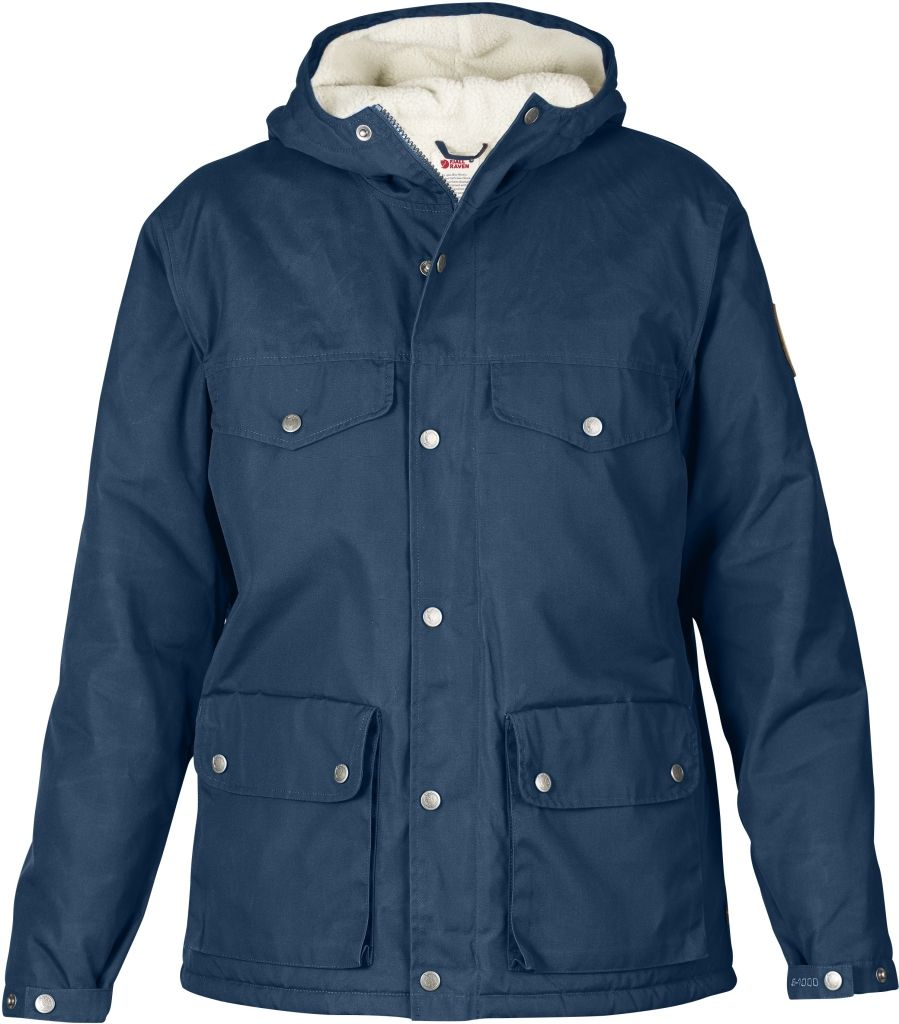 FjallRaven Greenland Winter Jacket W. Uncle Blue-30