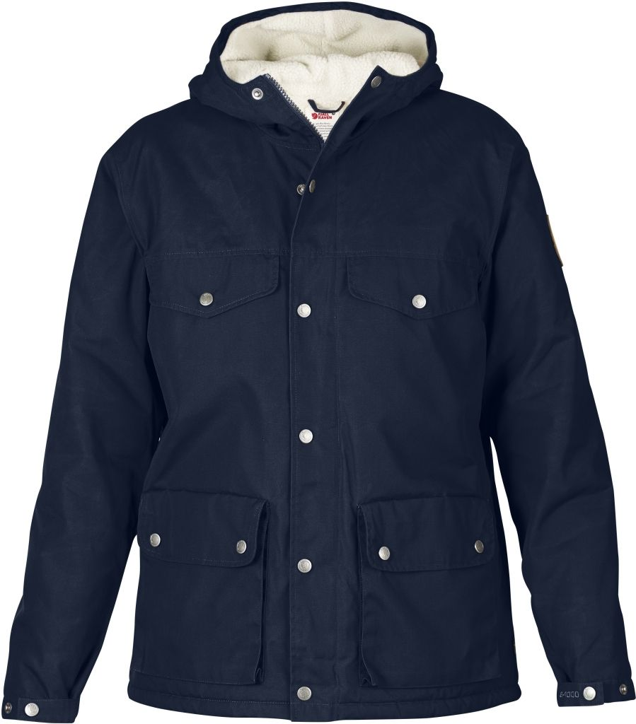 FjallRaven Greenland Winter Jacket W. Dark Navy-30