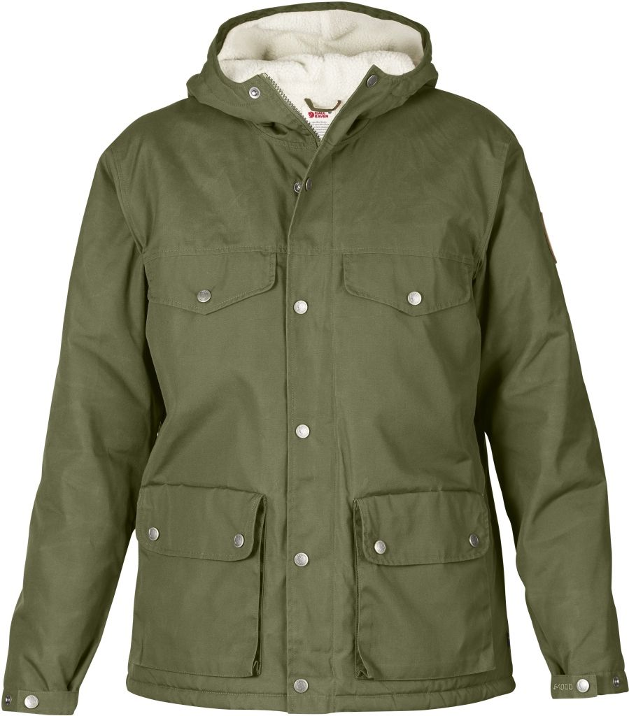 FjallRaven Greenland Winter Jacket W. Green-30