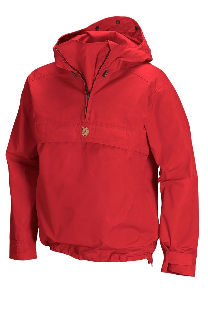 FjallRaven Kaise Anorak Red-30