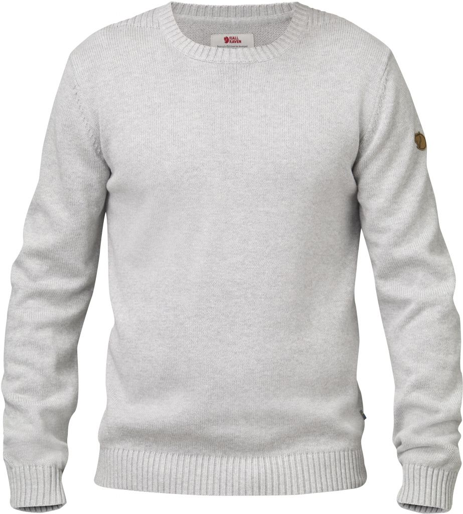 FjallRaven Övik Knit Crew Light Grey-30