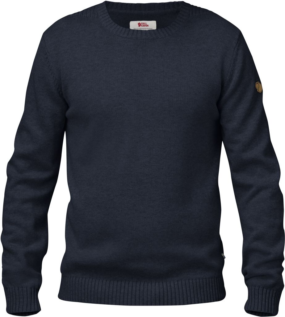 FjallRaven Övik Knit Crew Dark Navy-30