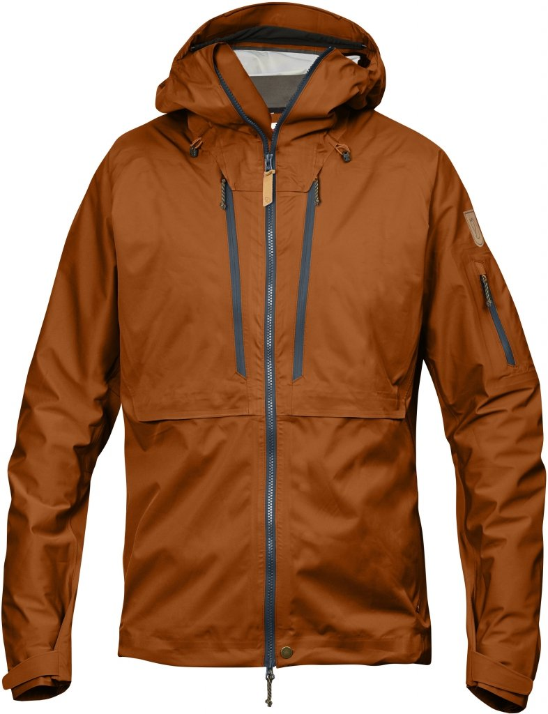 FjallRaven Keb Eco-Shell Jacket Autumn Leaf-30