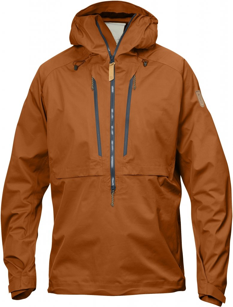 FjallRaven Keb Eco-Shell Anorak Autumn Leaf-30